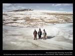Boys fetching water, Kharnang
