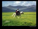 Horse and rider, Kharnang