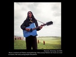 Guitar player, Kharnang