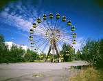 Ferris wheel at Pripyat Ukraine 2003 by Juha Tolonen