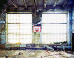 Gymnasium at Pripyat Ukraine 2003 by Juha Tolonen