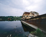 Harbour at Chernobyl Ukraine 2003