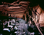 Mine shaft Wittenoom Western Australia 2005
