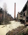 River Alph. Szopienice steel mill Katowice Poland 2004